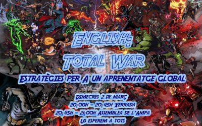 XERRADA: ENGLISH TOTAL WAR i posterior ASSEMBLEA ANUAL